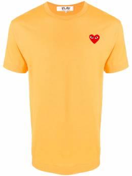 Comme Des Garcons Play рубашка с вышивкой P1T112