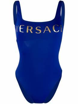 Versace купальник с логотипом ABD01106A232185