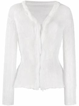 Issey Miyake chiffon twist blouse IM06FJ424