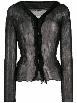 Issey Miyake chiffon twist blouse IM06FJ424C