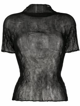 Issey Miyake chiffon twist T-shirt IM06FJ426