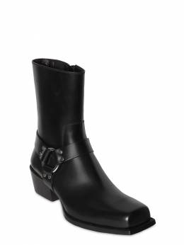 50mm Zip-up Leather Boots Dsquared2 71IGH4004-MjEyNA2