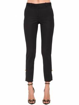 Stretch Wool Gabardine Cigarette Pants Versace 71IA86115-QTEwMDg1