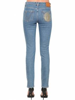 Slim Cotton Denim Jeans Versace 71IA86111-QTgwMDY1