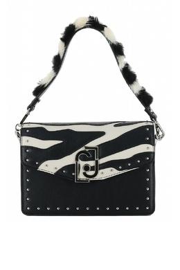 Маленькая черно-белая сумка Liu Jo 1776167519