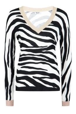 Пуловер с контрастной отделкой Liu Jo 1776167462