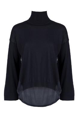 Ассиметричный свитер черного цвета Liu Jo 1776167464