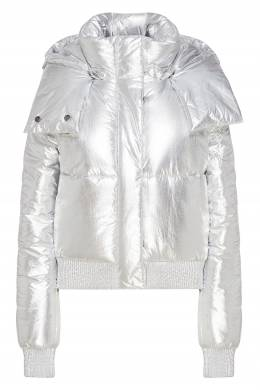 Серебристая куртка Off-White 2202166844