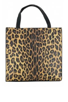 Квадратная сумка с леопардовым узором Liu Jo 1776167536