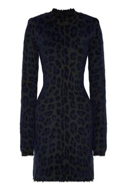 Шерстяное платье с леопардовым мотивом Unravel Project 2852166861