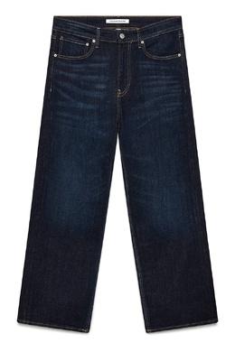 Прямые джинсы темно-синего цвета Calvin Klein Jeans 2777167395
