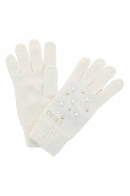 Белые перчатки с заклепками Liu Jo 1776167561