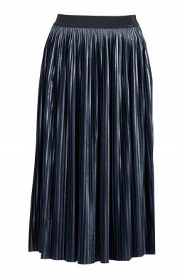 Плиссированная юбка миди цвета индиго Liu Jo 1776167487