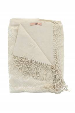 Двусторонний бежевый шарф Liu Jo 1776167492