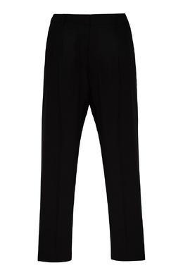 Черные брюки из шерсти Ami 1376166708