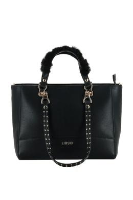 Черная сумка со съемными ручками Liu Jo 1776167532