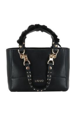 Маленькая сумка черного цвета Liu Jo 1776167535