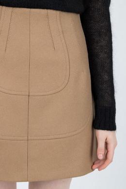 Короткая юбка с фигурными вставками No. 21 35167444