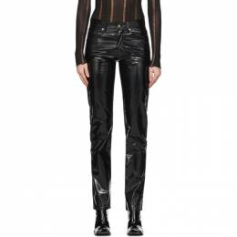 Yang Li Black Samizdat Trousers 192505F06900202GB