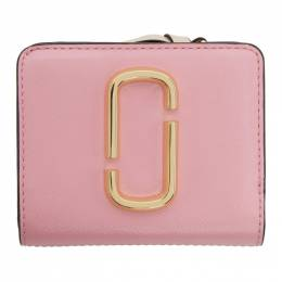 Marc Jacobs Pink Mini Snapshot Compact Wallet 201190F04015401GB