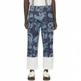 Loewe Indigo William De Morgan Fisherman Jeans 201677M18601401GB
