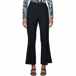 Rokh Navy Distorted Trousers 192151F08700305GB