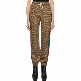 Gucci Brown G Rhombus Lounge Pants 192451F09701302GB