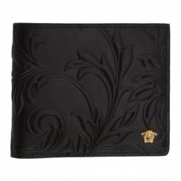 Versace Black Embossed Medusa Bifold Wallet 201404M16412701GB