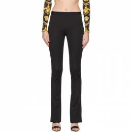 Versace Black Flared Trousers 201404F08709703GB