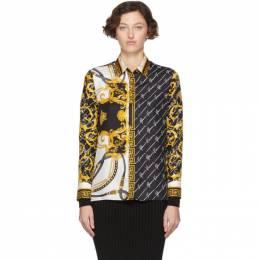 Versace Multicolor Barocco Signature Shirt 201404F10909802GB