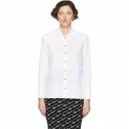 Versace White Poplin Medusa Shirt 201404F10910204GB