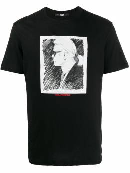 Karl Lagerfeld футболка Karl Profile 200M1751999