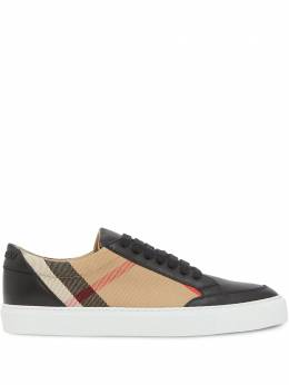 Burberry check pattern low-top sneakers 8024331