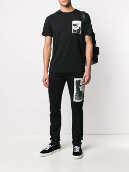 Karl Lagerfeld футболка Karl с карманом 200M1752999