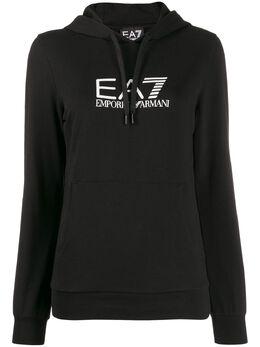 Ea7 Emporio Armani logo hoodie 8NTM40TJ31Z
