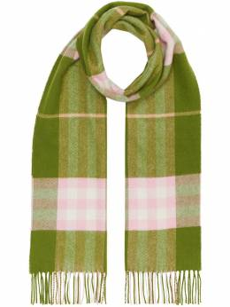 Burberry check print scarf 8022679