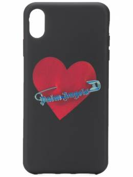 Palm Angels Pin My Heart iPhone XS Max case PMPA010F192760041088