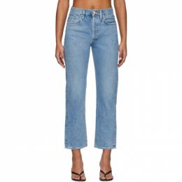 Goldsign Blue The Relaxed Straight Jeans 201176F06900106GB