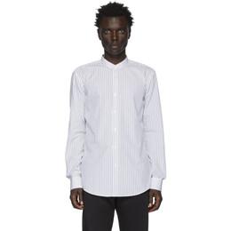 Boss White and Black Stripe Jordi Shirt 201085M19207705GB
