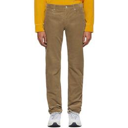 A.P.C. Beige Corduroy Petit Standard Jeans 192252M18601104GB
