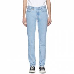 A.P.C. Blue JJJJound Edition Petit Standard Jeans 201252M18600501GB
