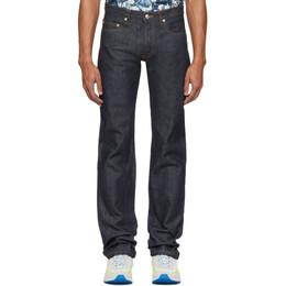 A.P.C. Indigo Raw New Standard Jeans 201252M18600802GB