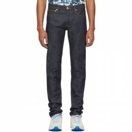 A.P.C. Indigo Raw Petit New Standard Jeans 201252M18600906GB