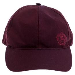Burberry Burgundy Fabric Boysenberry Cap
