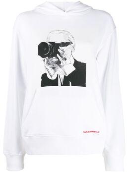 Karl Lagerfeld Karl Legend hoodie 200W1890100
