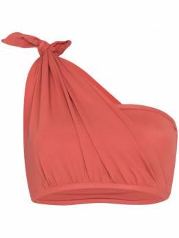 Beth Richards knot bandeau one shoulder bikini top BR17265