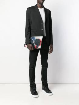 Alexander McQueen клатч Notebook 55081397T2N