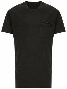 Osklen футболка Eco с нагрудным карманом 59138