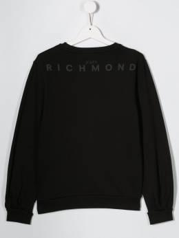 John Richmond Junior толстовка с надписью RGA19237FEFEX