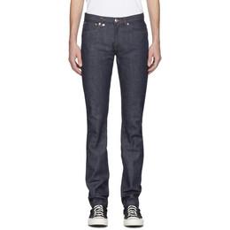 A.P.C. Indigo JJJJound Edition Petit Standard Jeans 201252M18600602GB
